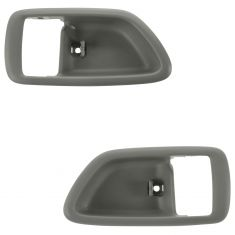 04-06 Toyota Tundra (Double Cab); 01-07 Sequoia; Charcoal Inside Door Handle Bezel PAIR