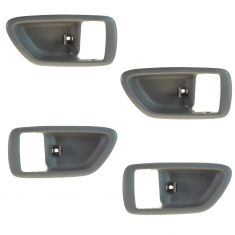 04-06 Toyota Tundra (Double Cab); 01-07 Sequoia; Charcoal Inside Door Handle Bezel SET of 4