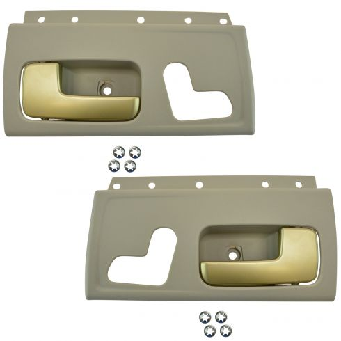 2003 11 Lincoln Town Car Interior Door Handle Pair 1adhs01619 At