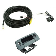 09-12 Dodge Ram 1500-3500 Paint To Match Rear View Back Up Camera Upgrade Kit  (Add-on Style)