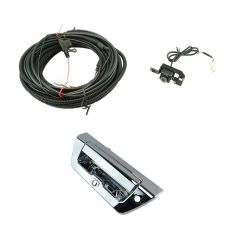 15-16 Ford F150 Chrome Rear View Camera Upgrade Kit w/ lock provision (Add-on Style)