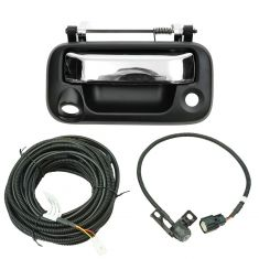 08-15 Ford Pickup; 08 Mark LT Chrome &  Black Rear View Back Up Camera Upgrade Kit (Add-on Style)