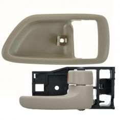 04-06 Toyota Tundra (Double Cab); 01-07 Sequoia Fawn Front Door Inside Handle & Bezel RF = RR