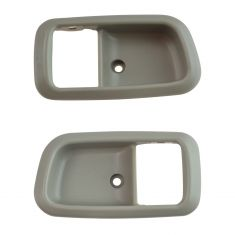 00-06 Toyota Tundra (Reg & Access Cab) Charcoal Front Door Inside Handle Bezel Pair