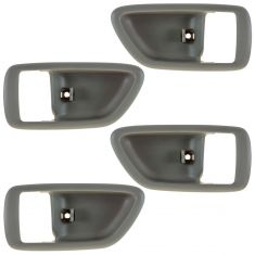04-06 Toyota Tundra (Double Cab); 01-07 Sequoia; 00-04 Avalon Fawn Inside Door Handle Bezel Set of 4