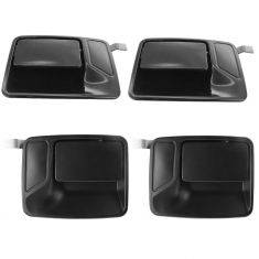 99-15 Ford Super Duty PU (w/Keyless Entry) Outside PTM Door Handle Set of 4