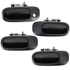 06-10 Dodge Charger PTM Front & Rear Exterior Door Handle Set (4pc)