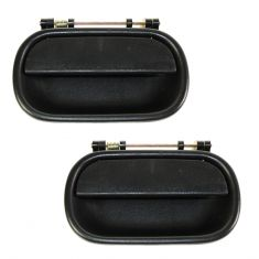 94-01 Isuzu NPR Front Door Outer Black Handle PAIR