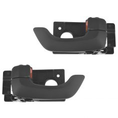 06-10 Kia Optima Front Inner Black Door Handle Assy Pair (Kia)
