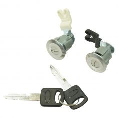 95-11 Ford; 96-09 Ford Medium Truck; 99-10 Lincoln; 97-07 Mercury Door Lock Cylinders w/Keys SET