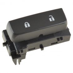 07-11 Chevy Silverado, GMC Sierra Frnt Door Mounted Black Door Lock Switch (w/Blue Lighting) RF (GM)