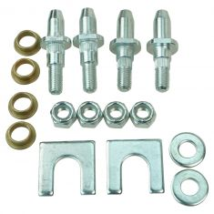 02-09 GM Mid Size SUV Front & Rear, Upr & Lwr Door Hinge Repair Kit (2 Pins, 2 Bushings, 2 Lock Nut)