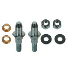 99-07 GM Full Size PU & SUV Front Door Hinge Repair Kit (2 Threaded Pins, 2 Bushings, 2 Lock Nuts)