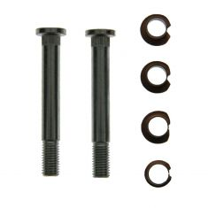 Door Hinge Pin & Bushing Kit (2 Pins, 4 Bushings, 2 Nuts)