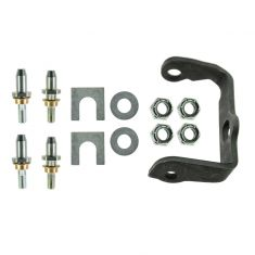 02-09 Bravada, Envoy, Rainier, SSR, Trailblazer Rear Door Hinge Pin Repair Kit w/Bracket RR