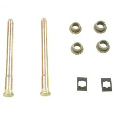 94-05 GM Mid Size SUV; 94-04 S10, S15 Frt or Rr Dr Hinge Repair Kit (2 Pins, 4 Bush, 2 E-Clips)