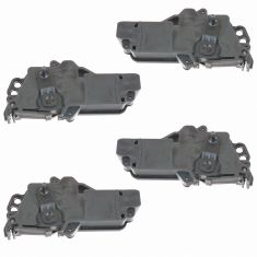97-04 Ford Power Door Lock Actuator 4 Piece Set