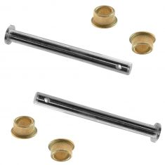 79-98 Ford Door Hinge Repair Kit SET (Includes 2 Pins & 4 Brass Bushings)