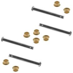 79-98 Ford Door Hinge Repair Kit SET (Includes 4 Pins & 8 Brass Bushings)