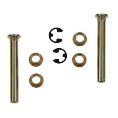 89-06 FORD Lincoln Mercury Multifit Door Hinge Pin & Bushing SET (2Pins, 4 Bushings, 2 Clips)