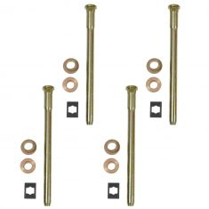 88-05 Caddy, Chevy, GMC Full Size PU, SUV Door Hng Pin & Bush Kit (4 Pin, 4 Ret Clip, & 8 Bushings)