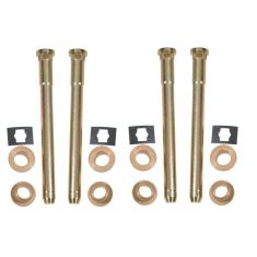 Door Hinge Pin & Bushing Kit (4 Pin, 4 Retaining Clip, & 8 Bushings)