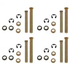 97-98 Dakota; 97-01 1500; 97-02 2500 3500 Door Hng Pin & Bush Kit (4 Pins, 4 E-Clips, & 8 Bushings)