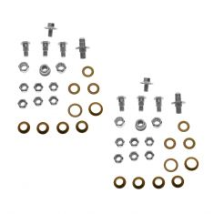 07-10 GM Full Size PU, SUV Upr & Lwr Door Hinge Repair Kit (Pins, Brass Bushings, Lock Nuts) PAIR