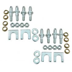 02-09 GM Mid Size SUV Front & Rear, Upr & Lwr Door Hinge Repair Kit (4 Pins, 4 Bushings, 4 Lock Nut)