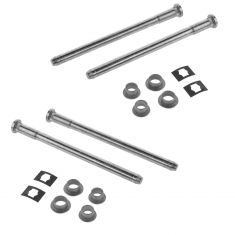 96-12 Chevy Express, Savana Van Front Door Hinge Repair Kit (4 Pins, 4 Bushings, 2 Washers) Pair