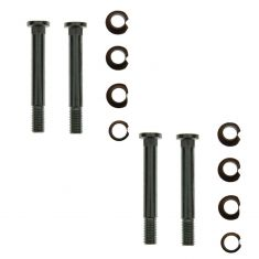 Door Hinge Pin & Bushing Kit (4 Pins, 8 Bushings, 4 Nuts)