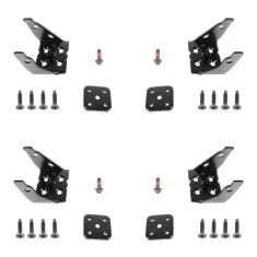 2002-07 GM Mid Size Trk Upper & Lwr Door Hinge LH RH SET of 4