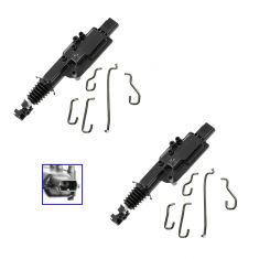 97-06 Ford Lincoln Mercury Multifit Door Lock Actuator PAIR