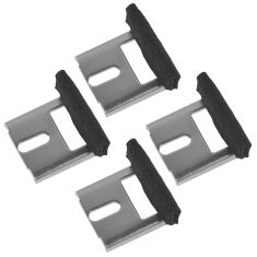 93-02 Pontiac Trans Am, Firebird, Camaro Window Stabilizer Bracket Replacement Set of 4
