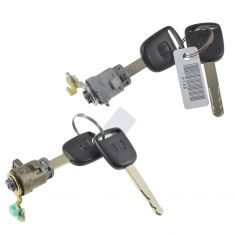 Civic: 03-05 Cpe; 04-05 Htchbk, Hybrid; 03-04 Sedan, Odyssey Door Lock Cylinder w/Key Pair (Honda)