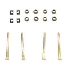 94-05 GM Mid Size SUV; 94-04 S10, S15 Frt & Rr Dr Hinge Repair Kit (4 Pins, 8 Bush, 4 E-Clips)