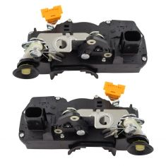 07-09 Escalade, Tahoe, Yukon Door Lock Actuator Rear PAIR