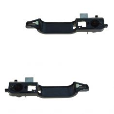 02-07 Ford Focus Front Outer Door Handle Actuator w/Reinforcement Pair (Ford)