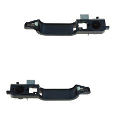 01-04 Ford Escape; 01-06 Mazda Tribute Front Outer Door Handle Actuator w/Reinforcement Pair (Ford)