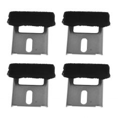 93-02 Pontiac Trans Am, Firebird, Camaro Window Stabilizer Bracket Replacement Set of 4(GM)