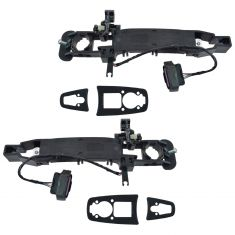 2008 Cadillac CTS (w/o Factory Remote Start) Outside Door Handle Bracket w/1 Connector Pair (GM)