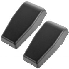 11-15 Jeep Wrangler Liftgate Mounted Textured Black Glass Hinge Cover Pair (Mopar)