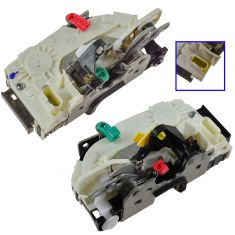 07-11 Dodge Nitro; 08-12 Jeep Liberty Rear Door Lock Latch w/Pwr Actuator Pair (MP)