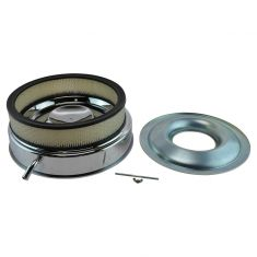 Mopar Performance Replacement Air Cleaner w/Breather Tube w/318, 340, 383, 400, 440 4 BBL Eng (MP)