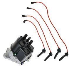 1990-91 Acura Integra Distributor and Wire Set