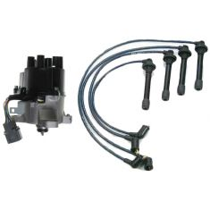 1996-98 Civic and Del Sol Distributor and Wire Set with 1.6L