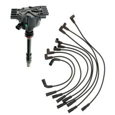 96-02 GM Truck 5.0 5.7 Distributor and Wire Set