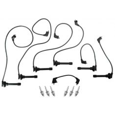 1995-97 Honda Accord V6 2.7L NGK Spark Plug & Pro Series Ignition Wire Set