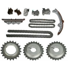 2001-04 Nissan Pathfinder; 2001-03 Infiniti QX4 3.5L VQ35DE Timing Chain Kit