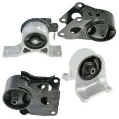 02-06 Nissan Altima 2.5L Engine & Transmission Mount Set